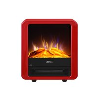 electric fireplace - vertical household electric heater heater office mini electric fireplace flame simulation power