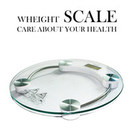 bath scale - Super sensitive Digital LCD Electronic Glass Bathroom Weighing Scales Weight Loss Bath Health cm KG Care About Your Health