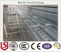 Wholesale Galvanized Metal Scaffolding Plank Scaffolding Board Factory Metal Plank For Construction