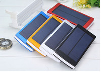 Wholesale New Solar Power Bank mah Portable External Battery Charger For Smart Phone