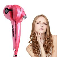 best hair curlers - Automatic Rotating Hair Curler with Digital Display Best quality Rotating Hair Curler Steam Funtion Magic Curling Iron Machine