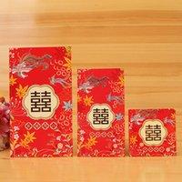Wholesale Pieces Wedding Money Envelopes Wedding Invitations New Year Red Envelope voor uitnodigingskaarten Red Pocket