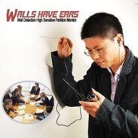 Wholesale F999B Super Highest Sensitive Listen Spy Ear Bug Thru wall Contact probe Microphone Amplifier System listening Device GSM Bug