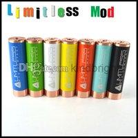 Wholesale Limitless mod AV ABLE MOD clone electrionic cigarette copper mechanical Mod battery DHL