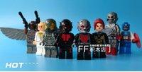 american plastic bricks - 2016 XINH Super Heroes Avengers Minifigures ANT MAN Antman American Captain Ultron Building Blocks Sets Model Bricks Toys