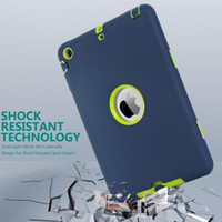 Wholesale For iPad mini Retina Kids Baby Safe Armor Shockproof Heavy Duty Silicone Hard Case Cover
