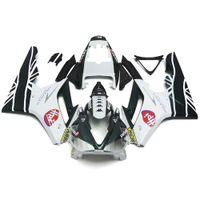 Wholesale Injection Fairings For TRIUMPH DAYTONA ABS Plastic Motorcycle Fairing KitParkin BE1 Racing Black White Body Kit