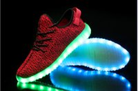 big ghost - new coconut yeeze350 ghost dance shoe shine shoes USB charging shoes big talker luminous colorful lights