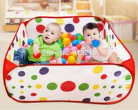 big fun inflatables - Play tent Great Fun Kids Portable Ocean Ball Pit Pool Outdoor Indoor Childrens Big Toy pop up Play Tent