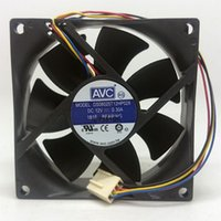 avc fan cpu - Original DS08025T12HP028 AVC A V cooling fan wire PWM cpu fan