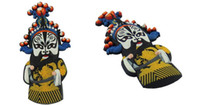 art conference - Peking Opera Fridge Stickers abroad conference small gifts features handicrafts with Chinese characteristics gifts