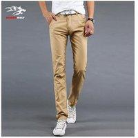 Wholesale Color Size Cotton Mens pants Classic joggers Men Casual Pants men s clothing Black Khaki pants Trousers Summer