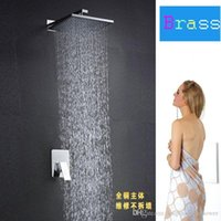 Wholesale modern brass high quality inches bathroom shower set
