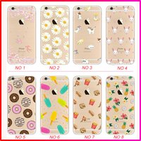apples painted - Super Thin paint TPU case silicone case back case with pattern for iphone s plus inch