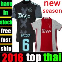 ajax blue - Whosales Ajax Amsterdam Soccer Jerseys AFC Ajax Jersey Football Jersey Uniforms Discount KLAASSEN TOP Thai Quality MILIK