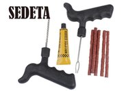 auto repair tools oem - OEM Tire Tyre Puncture Plug Repair Cement Tool Kit for Car Bike Truck Auto