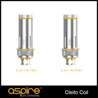 Wholesale 100 Authentic Aspire Cleito coils Clapton Coil ohm ohm ohm SS316L OHM Cleito Coil Heads Replacement Atomizer Aspire Cleito