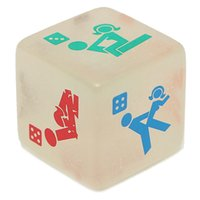 Wholesale Lowest Price PC Sex Funny Noctilucent Adult Glow Dice Game Love Humour Gambling Romance Erotic Crap Toy