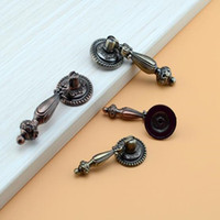 cabinet hardware - Continental vintage cabinet knobs and handles Cupboard wardrobe Door pendants rings drawer pulls Furniture Hardware Accessory home deocr