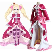 beatrice cosplay - Re Zero Kara Hajimeru Isekai Seikatsu Beatrice Re Life in a Different World from Zero Cosplay Halloween Party Dress with Cloak