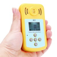 Wholesale Professional CO Detector Mini Carbon Monoxide Gas Meter with LCD Display and Sound light Alarm Useful Gas Analyzer