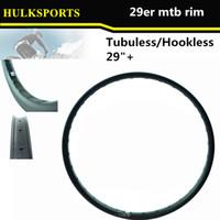 Wholesale Rim mtb carbon er Mountain Rim Asymmetric er mtb Carbon rims Clincher Bead Hookless er Tubeless Compatible HK M25 W50 T