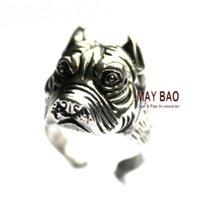 american bulldog dog - Bulldog Ring Wrap Ring Bullpup Ring Bull Terrier Ring Cute Dog Pet Ring Animal Ring Antique Handmade Retro