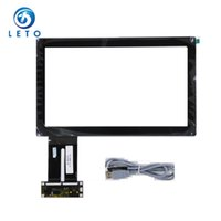 Wholesale 11 Projected Capacitive Multitouch Touch Screen Panel Kit with USB interface and YILO controller