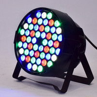Green Sound Active 110V Disco Lighting Equipment Led Par 54*3W RGBW DJ PAR64 Stage Light DMX Controller for Dancing Lighting Show Party