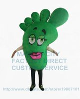 big foot costume - big green foot mascot costume adult size foot feet health theme advertising costumes cartoon foot fancy dress