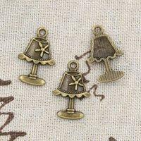 antique bronze desk lamp - 120pcs Charms desk lamp mm Antique Making pendant fit Vintage Tibetan Bronze DIY bracelet necklace