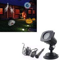 ac effect - Outdoor Christmas LED Effect Light IP65 Waterproof Projector Replaceable Lens Festival Holiday Wedding Scene Showing Lamp Laser Lamp
