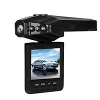 Wholesale Car DVRs H198 W pixels LCD inch Car DVR P Dash cams camera system night version Video Recorder black via DHL