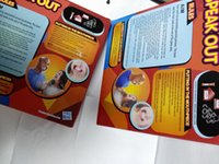 Wholesale 2016 HOTTEST Speak Out Games Ridiculous Mouthpiece Challenge Game game for your mouthpiece with paper cards