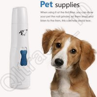 Wholesale Professional Pet Dog Puppy Cat Electric Toe Nail Grooming Grinder Clipper File Scissor Kit Hot Sale Dog Cleaning Grooming CCA4519