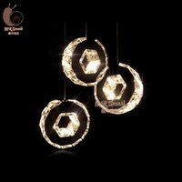 act rohs - Crystal meals stainless steel lamp act the role ofing restaurant dining Pendant Lights for dining room head