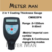 Wholesale Cheap Fe NFe in One Build in Probe Color Screen Coating Thickness Gauge CM8825FN