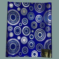 african headtie - sego headtie blue nigeria headties sego gele head tie african gele fabric pack LXL