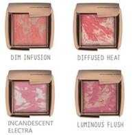 Wholesale DHL Brand HOURGLASS Blush Lady Women Brighten Face Contours Powder Shade Makeup Cosmetics Beauty Palette Accessories Color G SZ B09