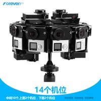 aluminum digital frame - CNC Degrees Spherical Go Pro Panorama Bracket Aluminium Alloy Panoramic Frame Mount Gopro Hero Cameras