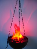 Wholesale Flame Light Realistic fire effect Estore Hanging Flame light Great for Halloween decoration Campfire Party