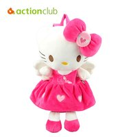 Wholesale Actionclub Cartoon Hello Kitty Baby Girls Backpacks Cute Soft Hello Kitty Plush Toys Lovely Designed Kid Birthday Gift Backpacks
