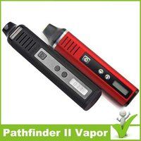 Wholesale Authentic Pathfinder Starter Kit mAh Temperature Control From F Update from Titan Snoop Dogg Dry Herb Vaporizer Pathfider Vape