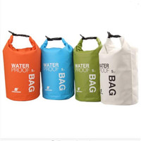 Wholesale 5L Portable Ultralight Outdoor Camping Travel Rafting Waterproof Dry Bag Swimming Travel Bags Kit