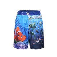 Wholesale Children Cartoon Board Shorts New Fashion Hot Sale Boy Beach Clothes Kids Boys Finding Dory Shorts