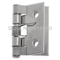 Wholesale Door Butt Hinges rotated from degrees to degrees Silver Tone Holes mm x mm quot x quot M01334
