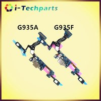 Wholesale New Original For Samsung Galaxy S7 Edge G935A G935F Charging Port Dock Connector Flex Cable Original for Samsung Galaxy S7 G930A G930F