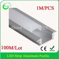 aluminium led fixtures - OEM Length Hot sale LED aluminum profile for LED strip LED aluminium Bar fixture Length can be customized