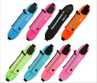 Wholesale 10pc Outdoor Sports Waterproof Phone Pockets Waist Belt Armband Bag Cases Pouch Marathon Belt Bag For iPhone s Plus Galaxy S6 Edge inch