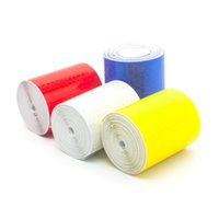 automobile safe - 5x300cm M Car decoration Motorcycle Reflective Tape Stickers Car Styling Automobiles Safe Material Safety Warning Decals